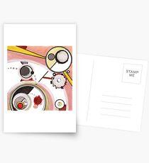 Mechanics of Modernity, Ink drawing Postcards