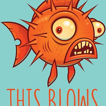 This Blows Porcupine Blowfish by fizzgig