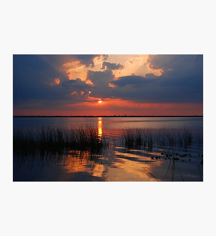 Another Sunset on the Lake Photographic Print