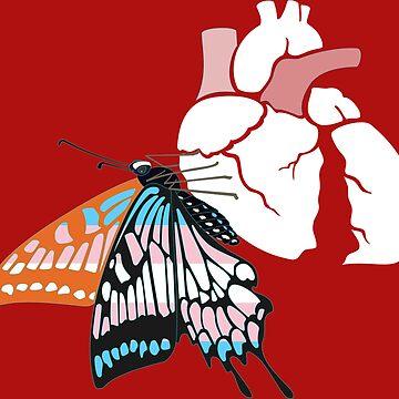 Broken heart transition by moonmorph