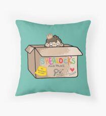 Sherlock's Mind Palace Throw Pillow