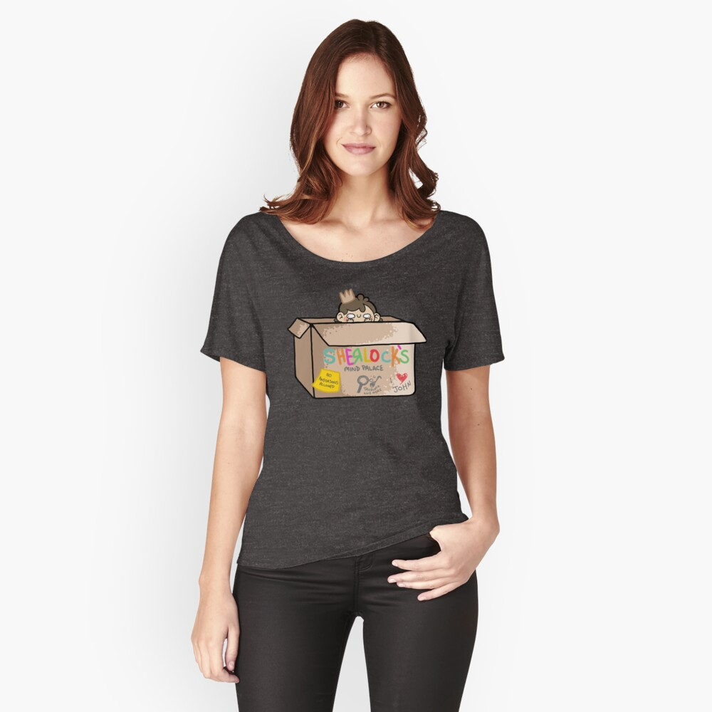 Sherlock's Mind Palace Women's Relaxed Fit T-Shirt Front