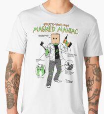 Create-Your-Own Masked Maniac Men's Premium T-Shirt