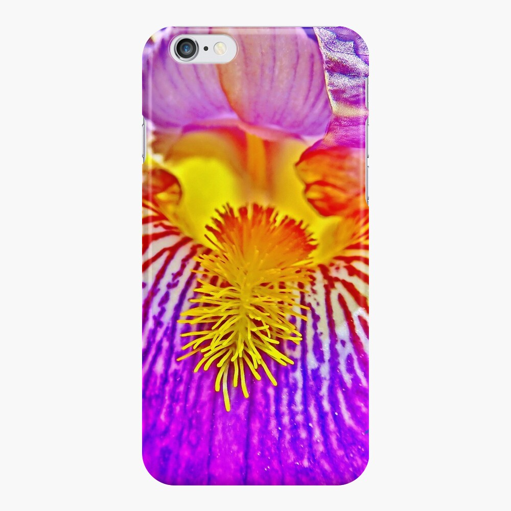 Flight of the Iris Bee, 3 of 4 iPhone Case & Cover