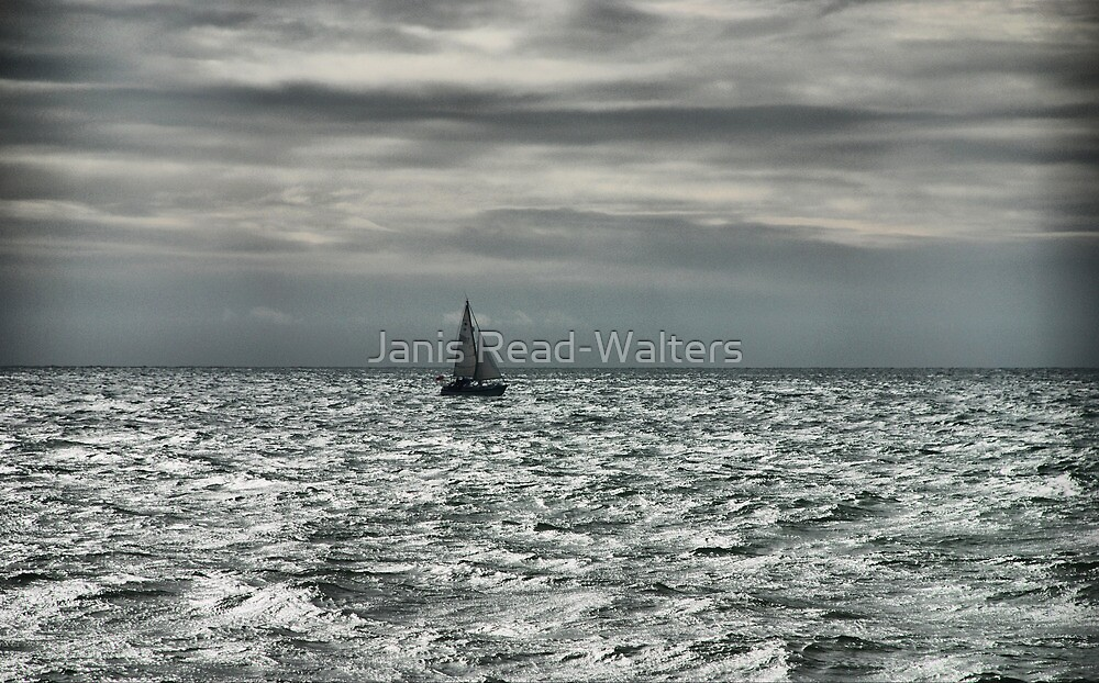 lone sailor by Janis Read-Walters