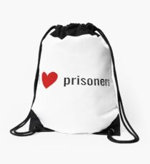 prisoners Drawstring Bag