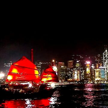 Victoria Harbour 維多利亞港, Hong Kong by Thanada