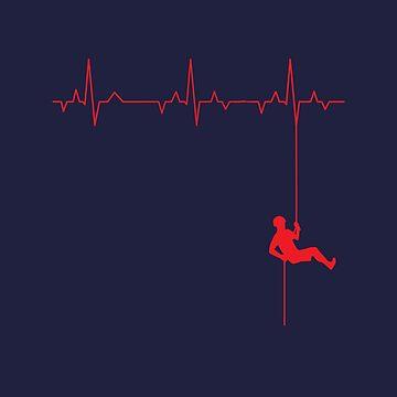 Love Rappelling ECG by eldram