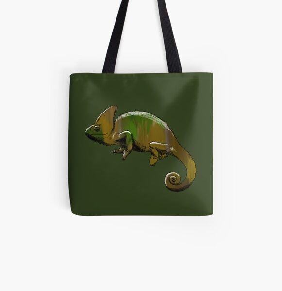 Camo Chameleon  All Over Print Tote Bag