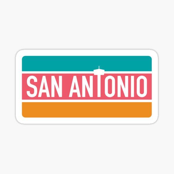 San Antonio Fiesta Colors Sticker