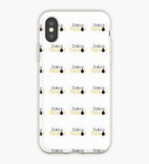 Data is new oil.  iPhone Case