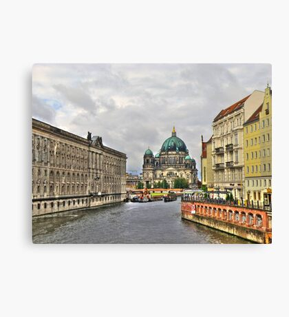 Berliner Dom Germany Canvas Print