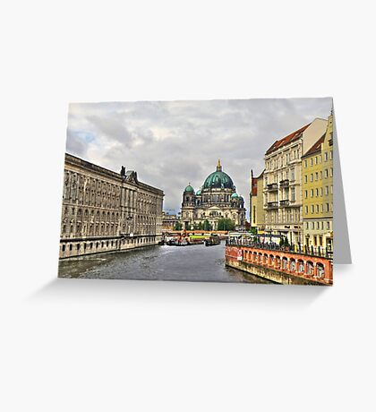 Berliner Dom Germany Greeting Card