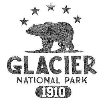 Glacier National Park - Bear by snarkee