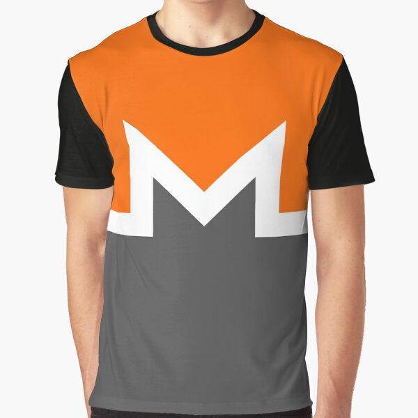 Cover Me In Monero Graphic T-Shirt