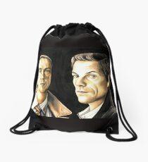Law and Order UK Drawstring Bag