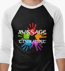Massage Therapist Men's Baseball ¾ T-Shirt