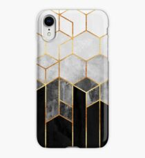 Charcoal Hexagons iPhone XR Case