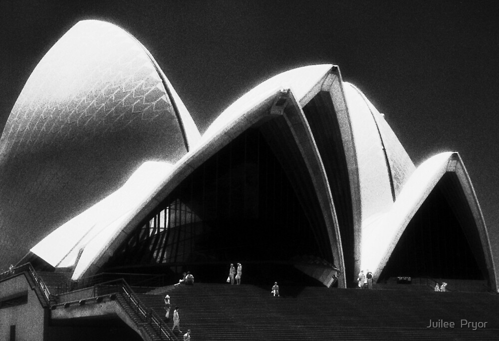 Opera House steps by Juilee  Pryor