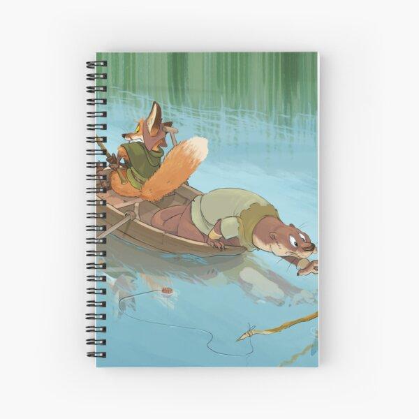 River Critters Spiral Notebook