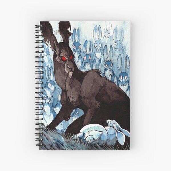The Black Rabbit Spiral Notebook