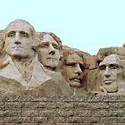 This is  Mount Rushmore ~ South Dakota by Diane Trummer Sullivan