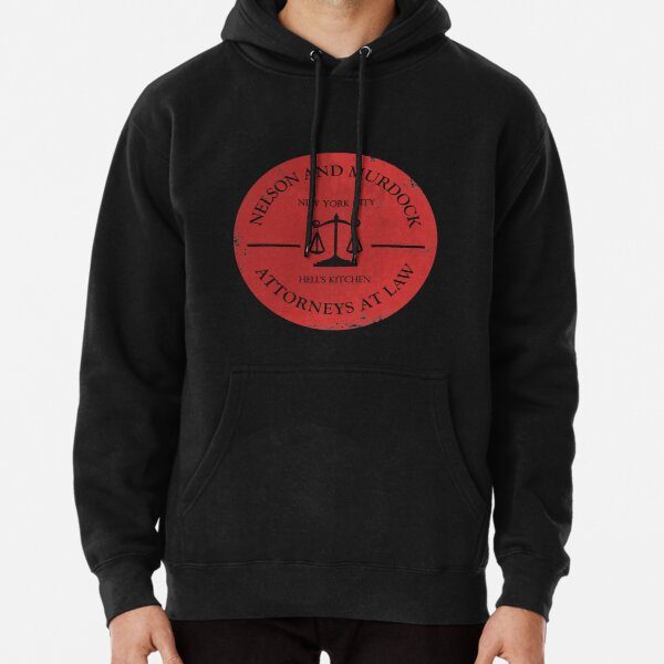 Nelson and Murdock Pullover Hoodie