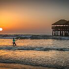 Early Morning Surfer by Derek Smyth