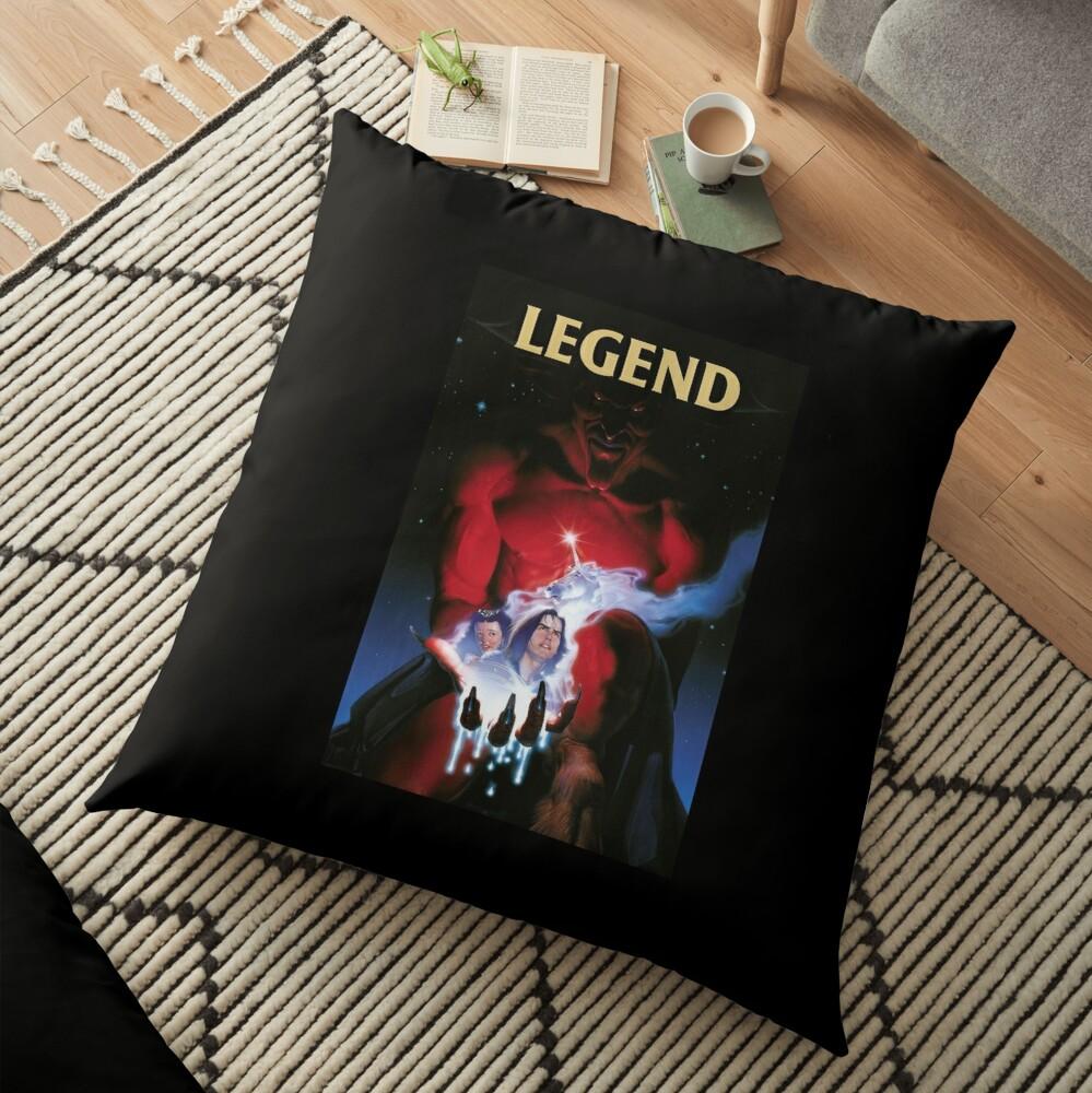 Legend Movie Poster Floor Pillow