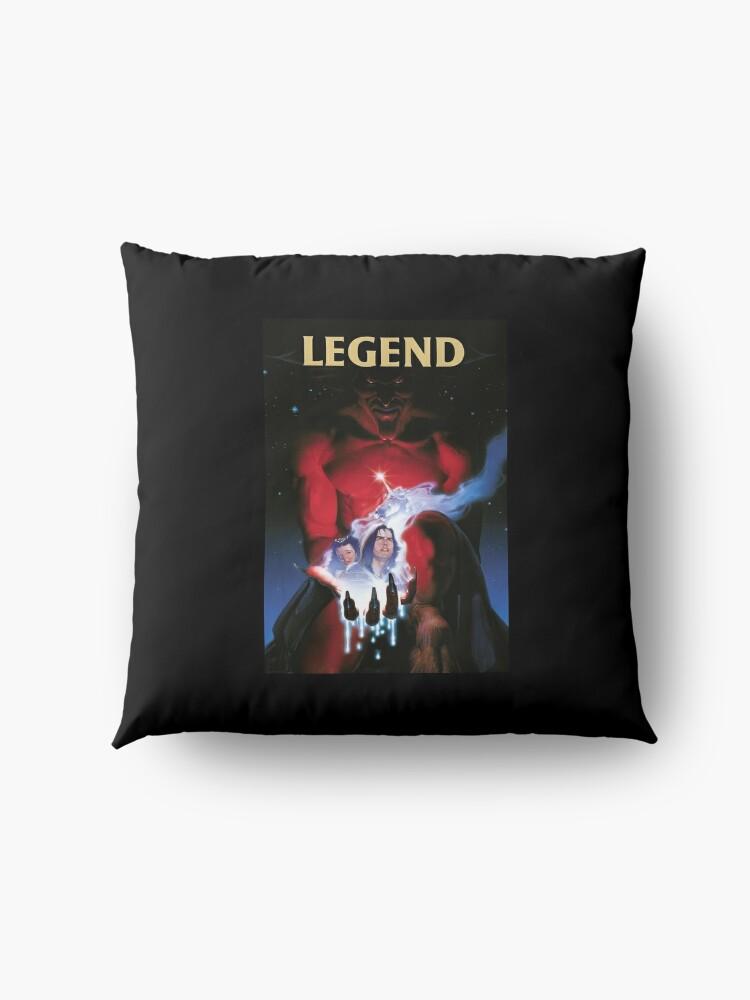 Alternate view of Legend Movie Poster Floor Pillow