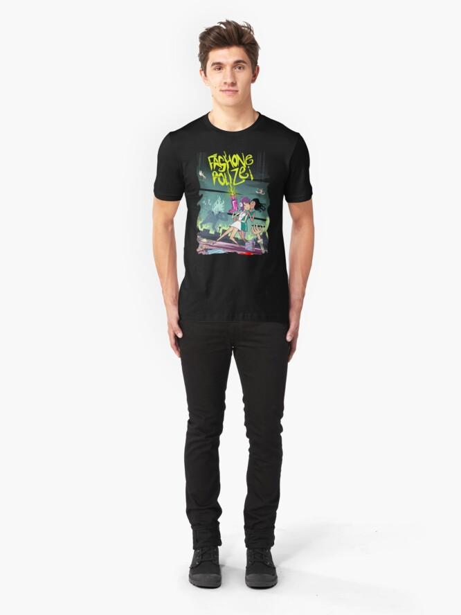 Alternate view of Fashone Polizei Slim Fit T-Shirt