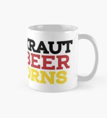 New Braunfels: Sauerkraut, Cold Beer, & Unicorns Classic Mug