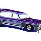 Ford Capri Hearse by angylroper