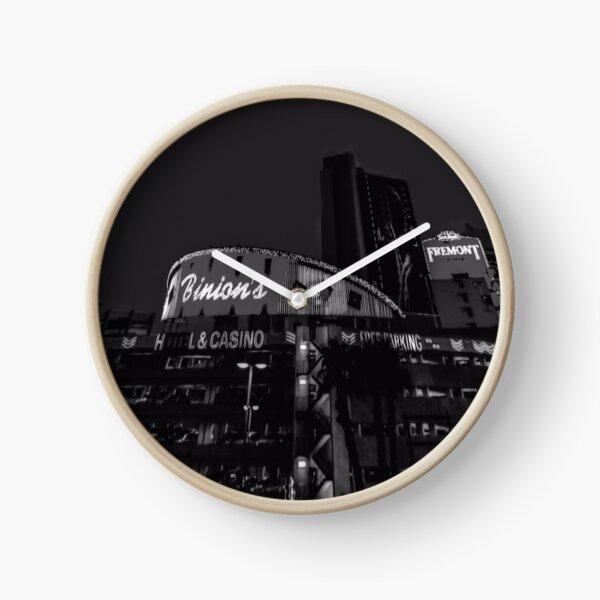 Viva Las Vegas - Schwarzweiß Uhr