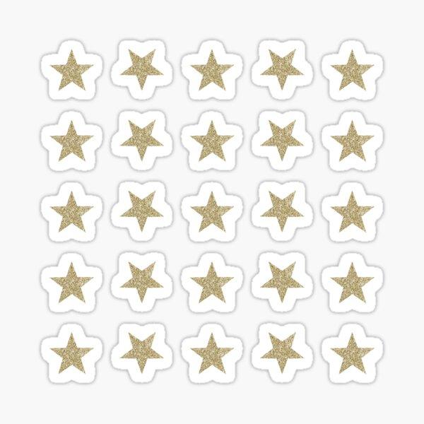 Star Set Minis - Gold Glitter Sticker