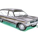 Vauxhall Viva Hearse by angylroper