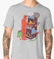 Satan Controlling the Universe Men's Premium T-Shirt