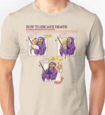 How To Escape Death Slim Fit T-Shirt