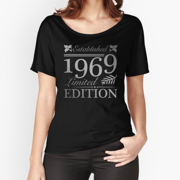 Established 1969 50th Birthday Relaxed Fit T-Shirt