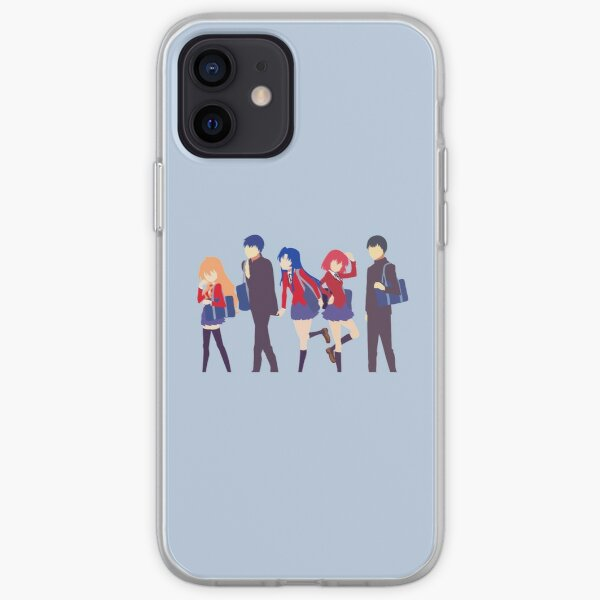 ToraDora Group Minimalist iPhone Soft Case
