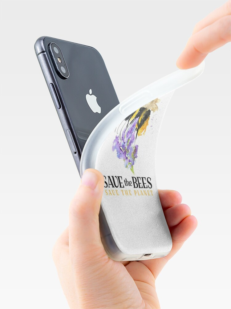 Alternate view of Save the Bees iPhone Case & Cover