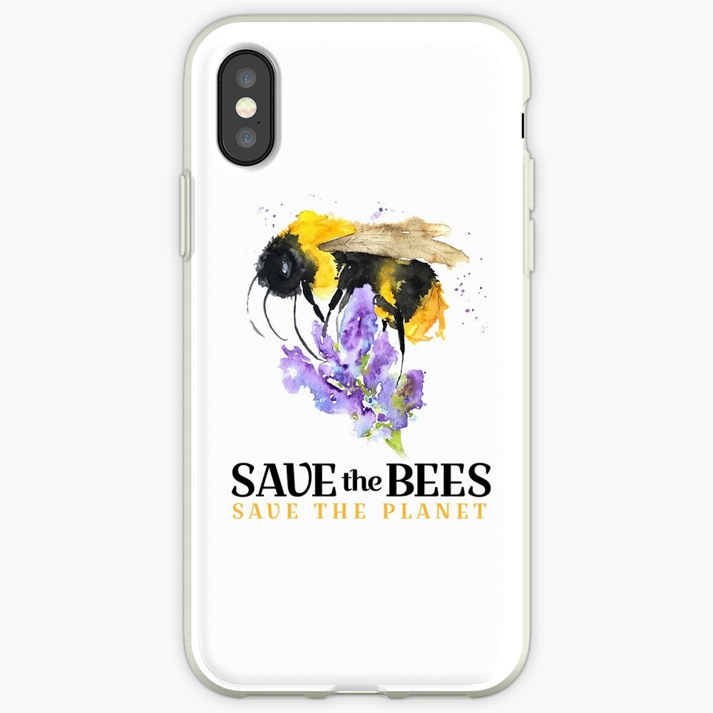 Save the Bees iPhone Case & Cover