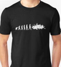 McBusted Evolution (White) Unisex T-Shirt
