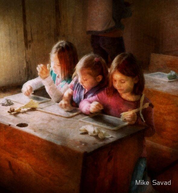Teacher - Classroom - Education can be fun  by Michael Savad