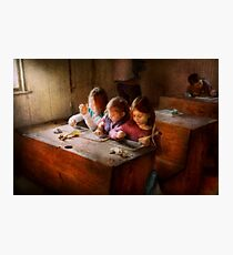 Teacher - Classroom - Education can be fun  Photographic Print