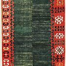 Cappadocian Central  Anatolian Antique Turkish Kilim by Vicky Brago-Mitchell