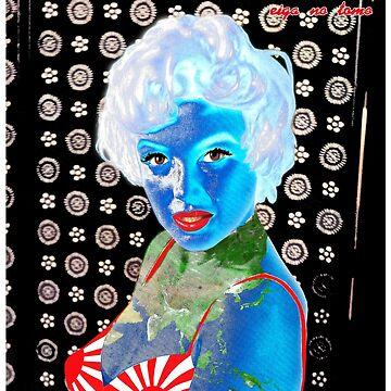 Japan Rising Sun Earth Marilyn by worn