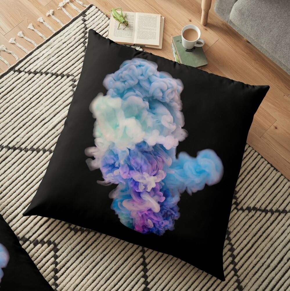 Colour Explosion Floor Pillow