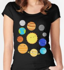 The Solar System Women's Fitted Scoop T-Shirt