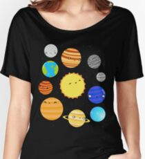 The Solar System Women's Relaxed Fit T-Shirt